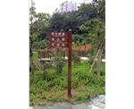 浔峰公园多功能导视牌