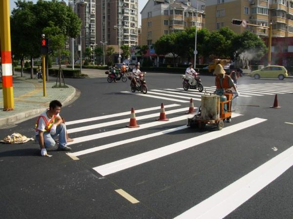 广州道路斑马线