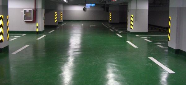 广州民鑫标识标牌公司提供地坪漆,泠涂漆划线