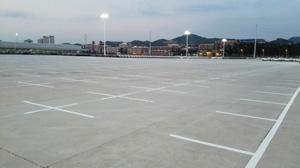 户外停车场标线施工